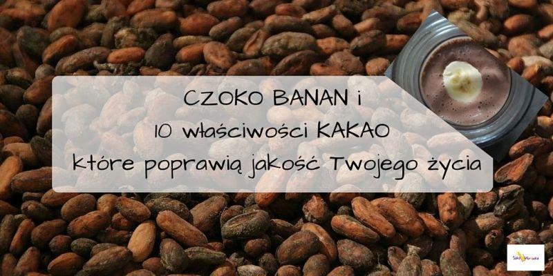 CZOKO BANAN – naturalnie słodki koktajl czekoladowy