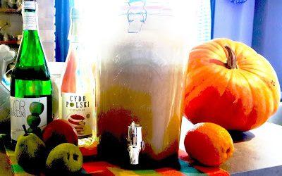 Chilloutowy napój imprezowy, czyli owocowe tornado z cydrem.