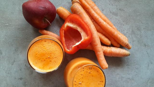Smoothie warzywne: z marchewką, papryką i jabłkiem – 2:1 dla warzyw!