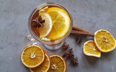 Zimowa herbata z kardamonem i wanilią