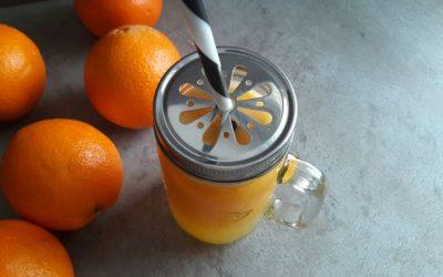 Domowa oranżada bez cukru i sztucznych barwników