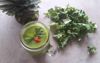 Green Drin z gruszką i pietruszką, czyli energetyczna smoothie – bomba