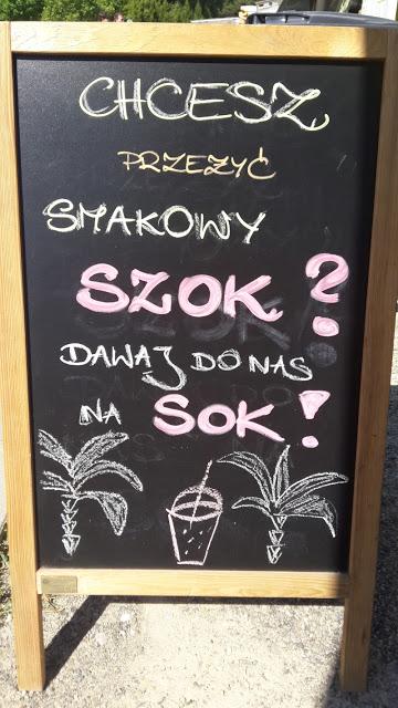 Sokowirówka Food Truck hasło