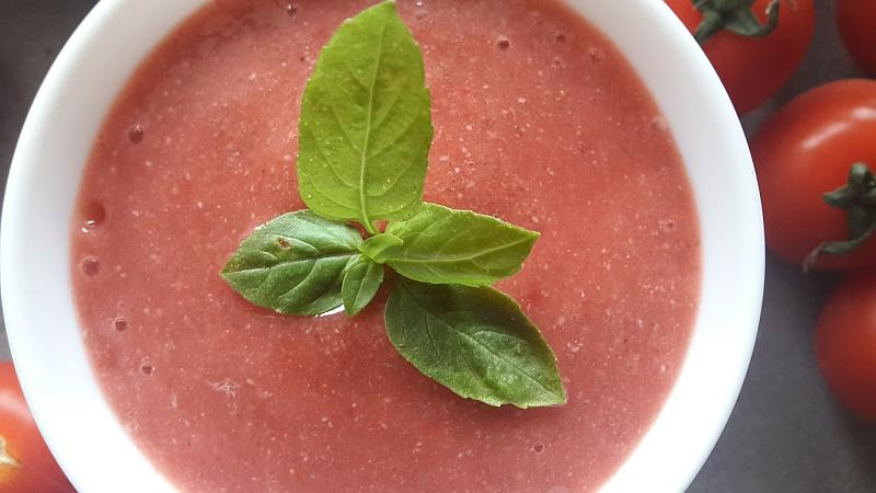 pomidorowo - truskawkowy mus