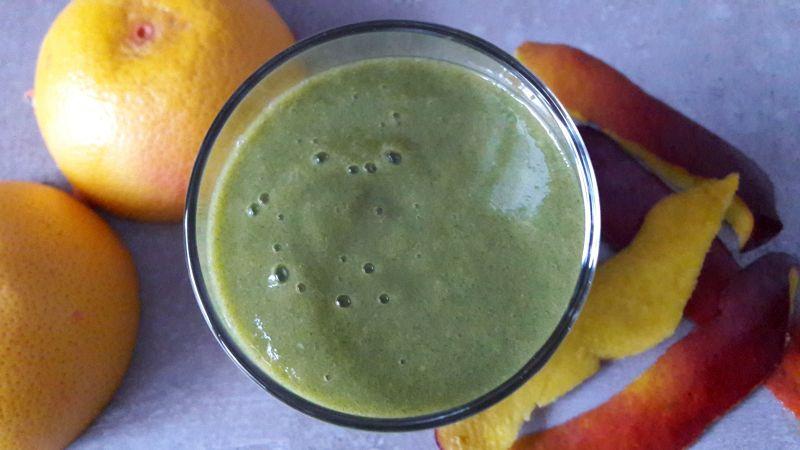 Zielone smoothie z mango – Green Drin tropikalny