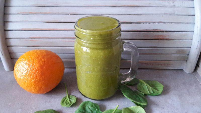 Green Drin dla dzieci. Z mango i szpinakiem.