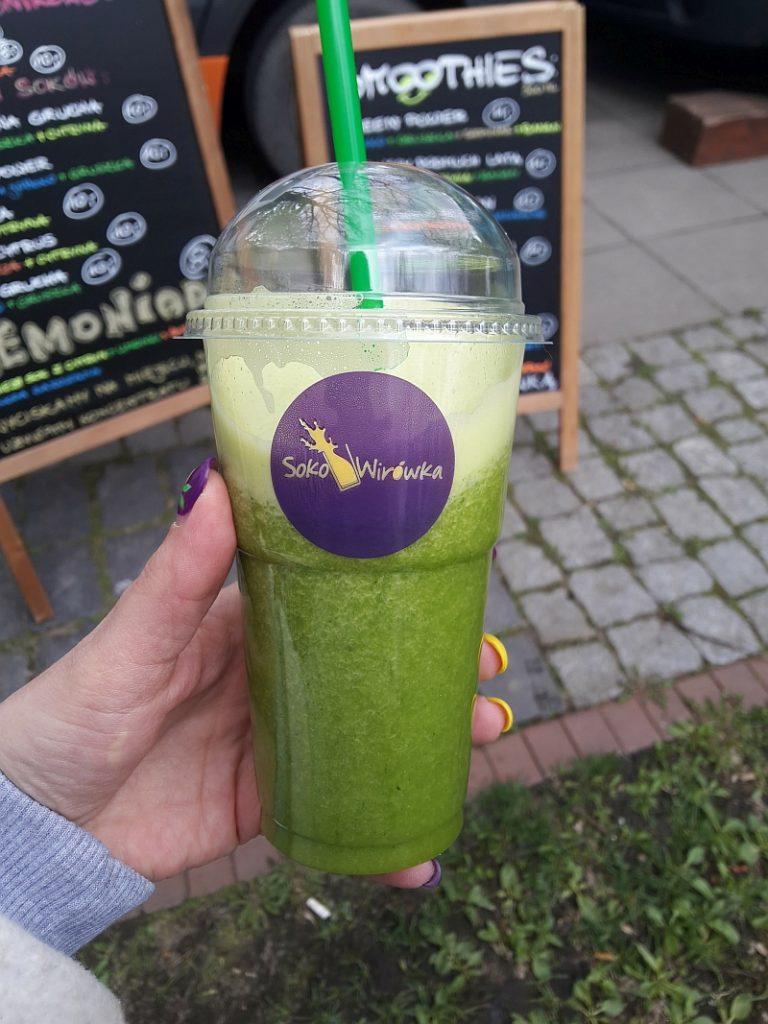 Green Drin ze szpinakiem