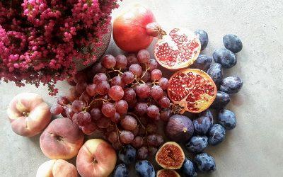 Jesienne smoothie z figą i ze śliwkami